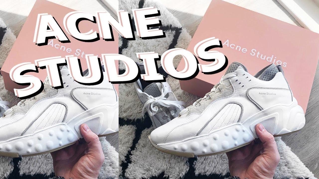 93a23e7d7338 Acne Studios Sneaker Unboxing - YouTube