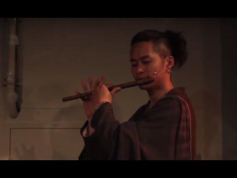 Amazing Japanese Shinobue flute & band Performance by Shinobue Sato(佐藤和哉): Cherry color of the waltz