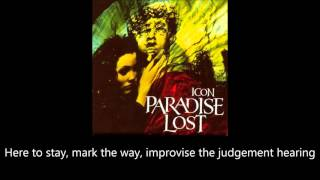 Paradise Lost - Embers Fire (Lyrics)