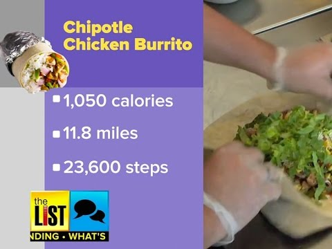 How Many Steps It Takes To Burn Off Your Favorite Meal