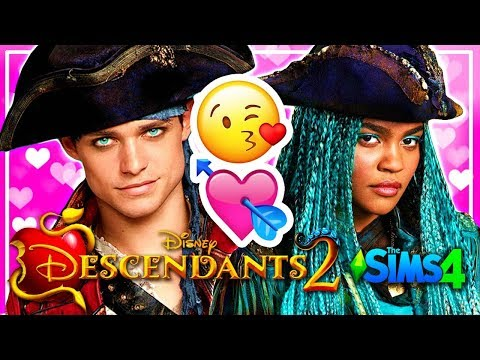 DESCENDANTS 2 Sims 4 💕 UMA AND HARRY ARE HAVING A BABY 💕 Disney's Descendants