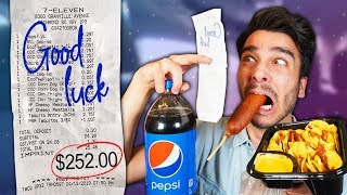 Gambar cover Letting Fast Food Employees DECIDE What i Eat for 24 HOURS! (IMPOSSIBLE FOOD CHALLENGE)