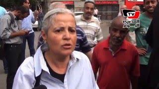تعليق مني مينا عقب منع الأمن لها من دخول نقابة الصحفيين