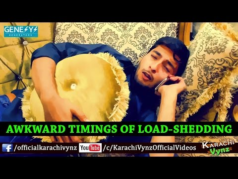 Awkward Timings of Load Shedding By Karachi Vynz Official