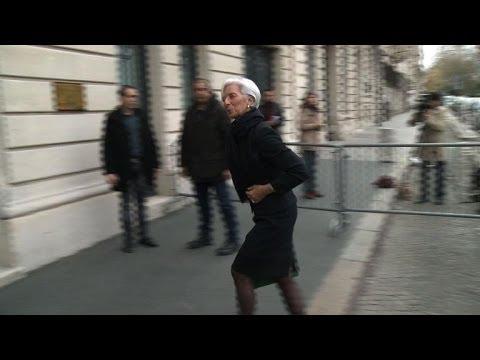 Arbitrage Tapie: C. Lagarde à la CJR face à S. Richard