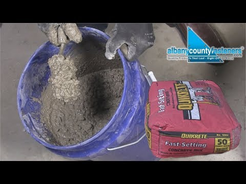 How To Mix Fast-Setting Concrete | DIY
