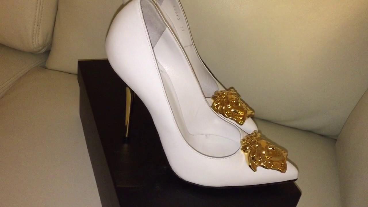 Versace Heels White Youtube