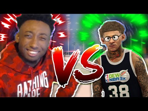 ANNOYINGTV EXPOSED!!! 25K COURT HE USED A SPEEDBOOSTING SHARP SHOOTER! *EASY VC* NBA 2K17 MYPARK