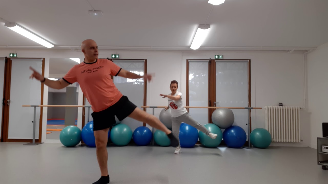 Un duo très sportif : Gym douce