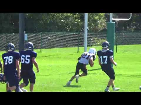 Badgers JV Football vs. Depew 9-23-2017