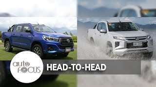 2018 Toyota Hilux Conquest VS. 2019 Mitsubishi Strada | Head-to-Head