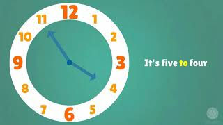 Telling the Time in Chinese | Learn Chinese Now The Big Time Demonstration Clock | Teaches Children How To Tell Time. This is the Big Time 12-Hour