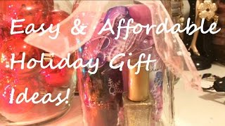 Easy & Affordable Holiday Gift Ideas! Thumbnail