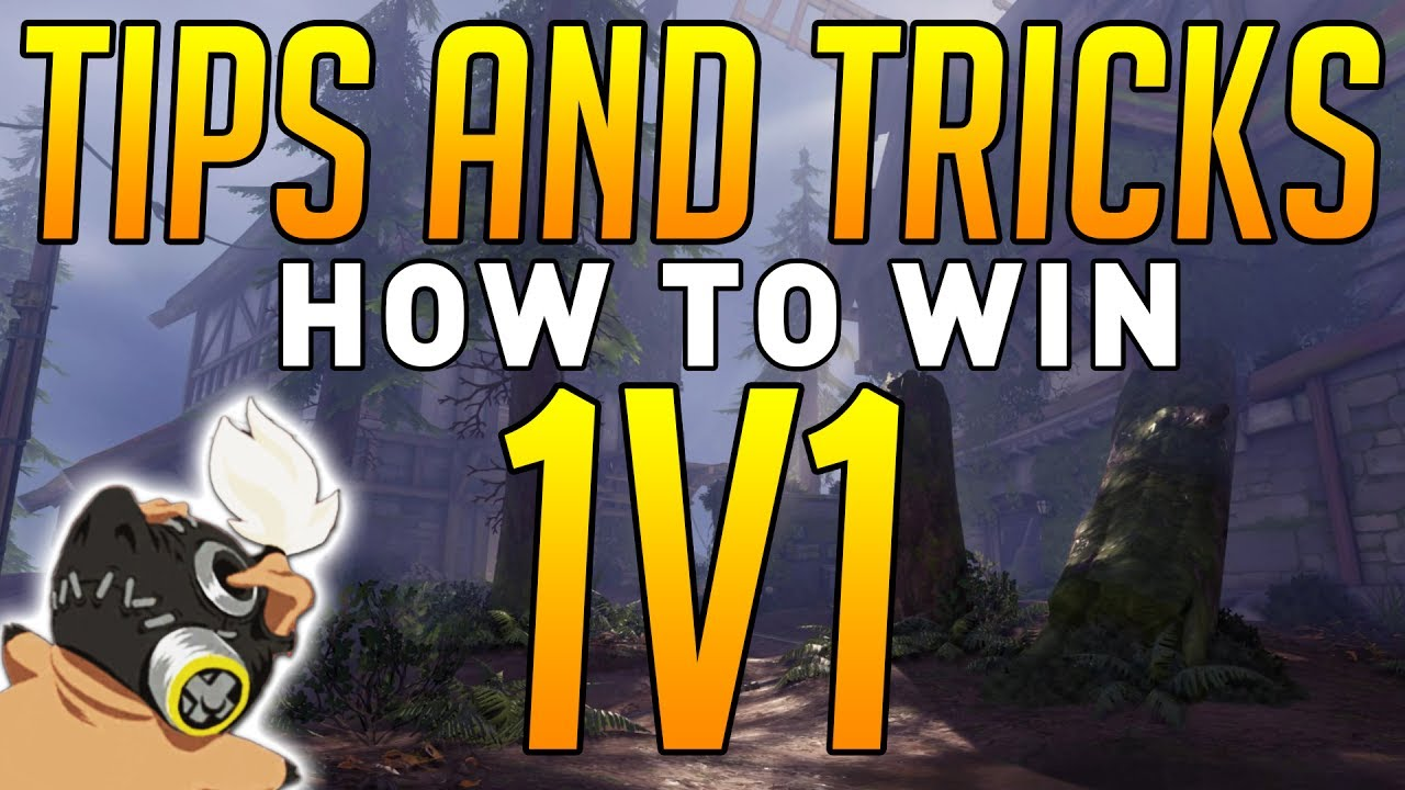 how to win overwatch 1v1