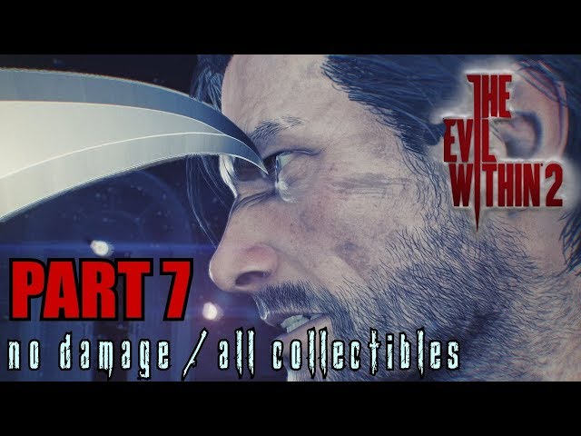 The Evil Within 2 Walkthrough Part 7 - Lying in Wait No Damage / All Collectibles