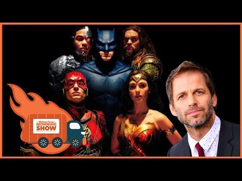 Zack Snyder's Justice League Cut? - The Kinda Funny Morning Show 01.04.18