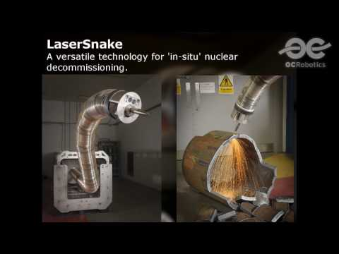 LaserSnake2 - Laser cutting for nuclear decommissioning at Sellafield - a world first.