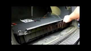 how to install a trailer wire harness on a hyundai santa fe - youtube  youtube