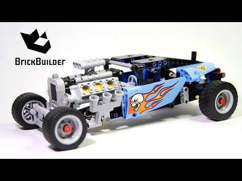 lego technic 42022 hot rod lego speed build youtube. Black Bedroom Furniture Sets. Home Design Ideas
