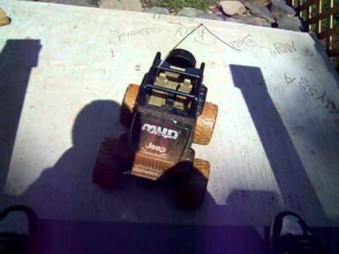 R/C Jeep Mud slinger demo