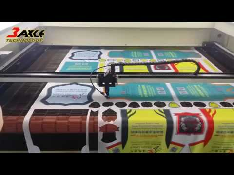 Leather fabric Laser cutting machine 全自動視覺定位切割機-Taiwan Supply
