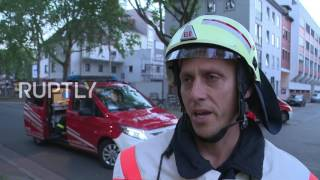 Germany  37 injured as blaze rips through migrant housing centre in Bremen