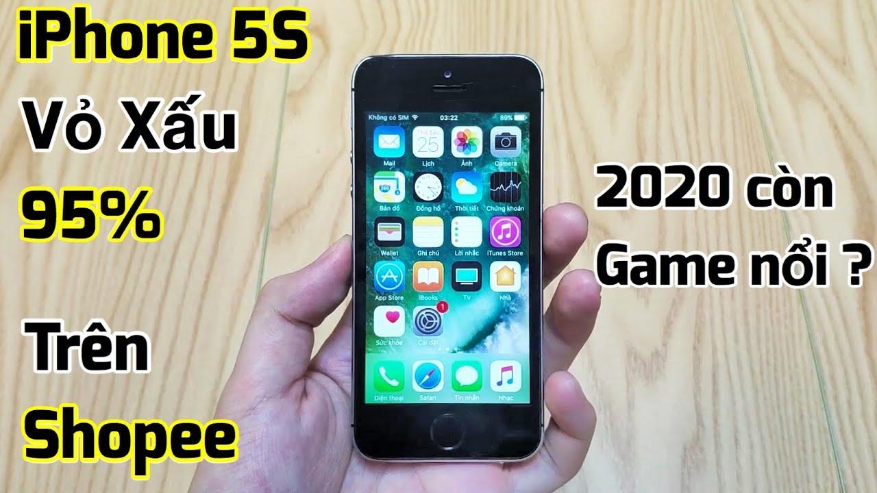 Thử mua iPhone 5s Vỏ Xấu 95% giá 1tr trên Shopee : Đúng là Xấu thật