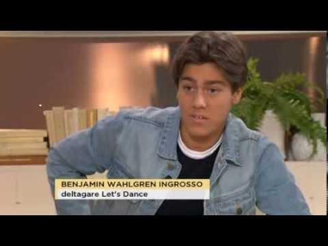 Hur mycket har Benjamin Wahlgren dansat tidigare? - Nyhetsmorgon (TV4)