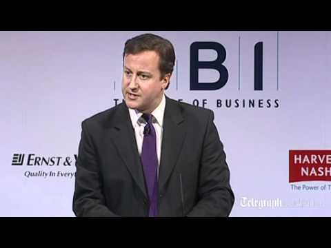 David Cameron at the CBI conference: Deficit is harder to clear than first thought