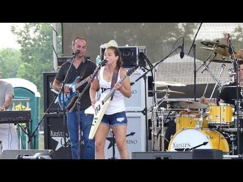Burning Sky - Kristen Capolino - Rockin' On The River, Troy NY, 7-19-17. 4K