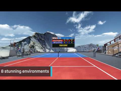 Virtual Sports – VR Tennis & Ping Pong遊戲預告