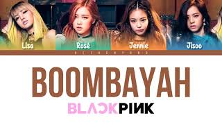 Lyrics Blackpink Bombayah