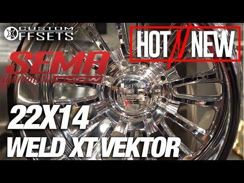 Hot N New SEMA 2017 Weld XT Vektor