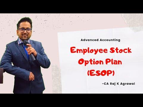 Advanced Accounting- (Topic: Employee Stock Option Plan ESOP) by CA Raj K Agrawal for IPCC