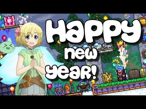 TERRARIA HAPPY NEW YEAR 2017! New Secret Series! Super January! COOKIES!