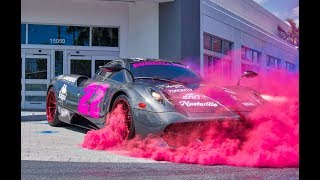 Supercars Arriving to Exotics and Espresso for the 2020 Gumball 3000 route announcement