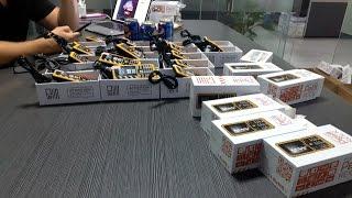 Как делают защищенные телефоны в Китае, фабрика и производство CATerpillar и Discovery. Эксклюзив!