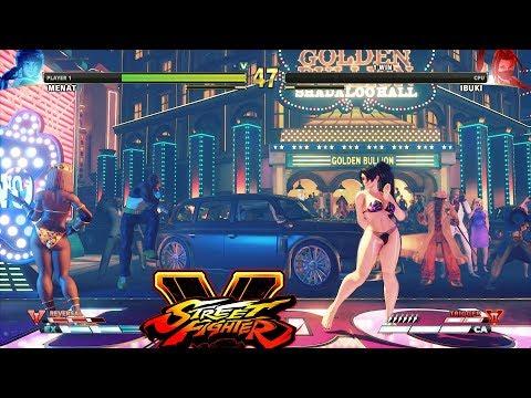 Street Fighter V AE Menat vs Ibuki PC Mod