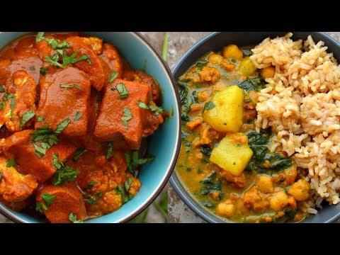4 Easy Vegan Curry Recipes