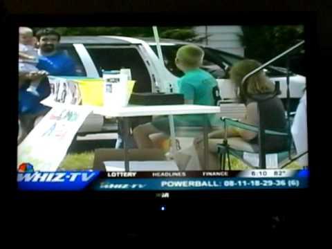 Lemonade Stand On WHIZ-TV.AVI