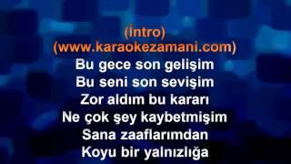 Emir   Veda Gecesi   Koyu Yalnızlık   2012   TÜrkÇe Karaoke