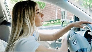 MY FIRST TIME DRIVING!