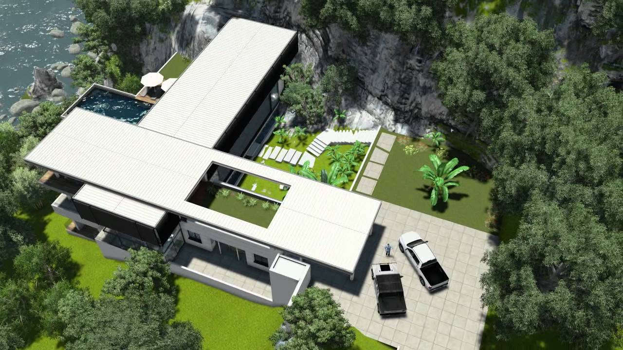Revit Villa Amanzi Youtube