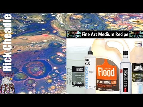 Fine Art Mix Pouring Medium. How I Make A Bird. Multi Swipe Technique - Fluid Art