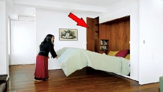 घर में कीमती सामन छुपाने की खूफिया जगह | Amazing Hidden Rooms and SECRET Furniture