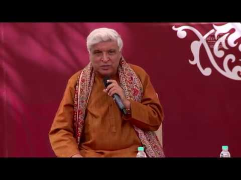 Main bhool jaaun tumhain ab yahi munasib hai_Nazm by Javed Akhtar at Jashn-e-Rekhta 2016