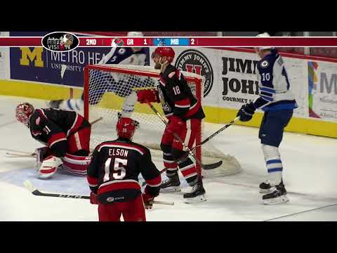 Griffins run out of offense in deciding Game 5 against Manitoba