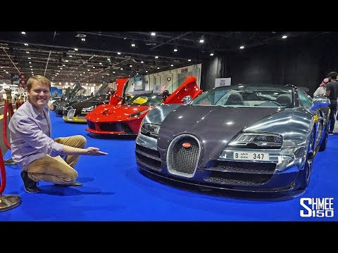 How Many Hypercars are at this Car Show in Dubai?! | VLOG