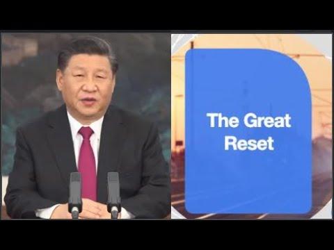 XI JINPING ANUNCIA EL GRAN REINICIO DE LA ECONOMÍA MUNDIAL DAVOS 2021