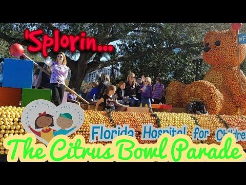 'Splorin Ep : 59 - 2017 Citrus Bowl Parade with The Tourist Trap